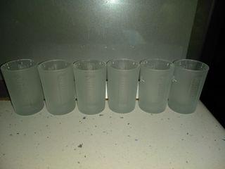lote 8 vasos chupito