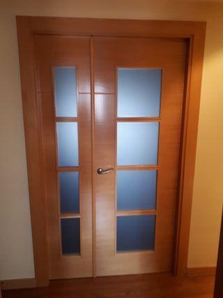 Puerta de paso salon de segunda mano por 120 en getafe for Puertas de paso segunda mano