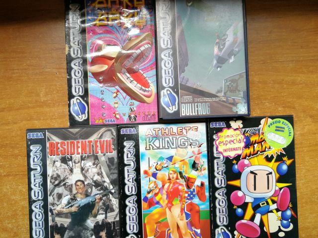 Juegos Sega Saturn Pal De Segunda Mano Por 25 En Cordoba En Wallapop