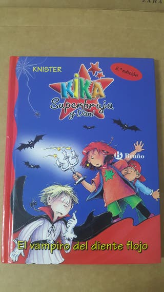 Lote libros Kika Superbruja