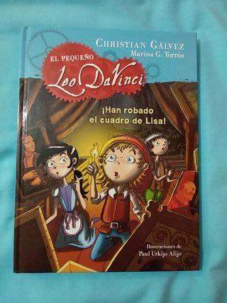 Libro el pequeño Leo DaVinci