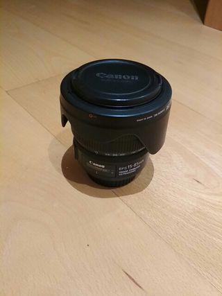 Objetivo Canon EF-S 15-85 Ultrasonic