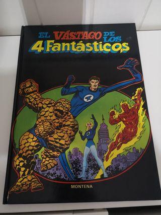 El Vastago d los 4 Fantasticos comic tapa dura