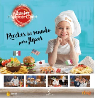 LIBRO DE RECETAS JUNIOR MASTER CHEF (ORIGINAL)