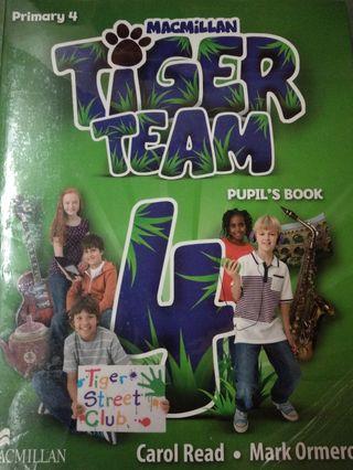 libro texto ingles 4 primaria Tiger team