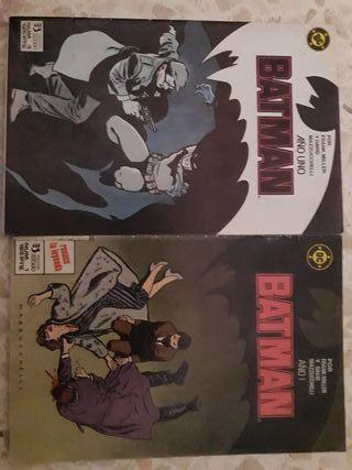 Batman año uno comic grapa