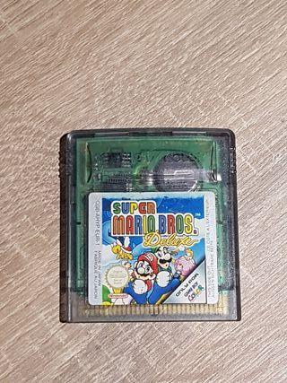 juego game boy color super Mario Bros. Deluxe