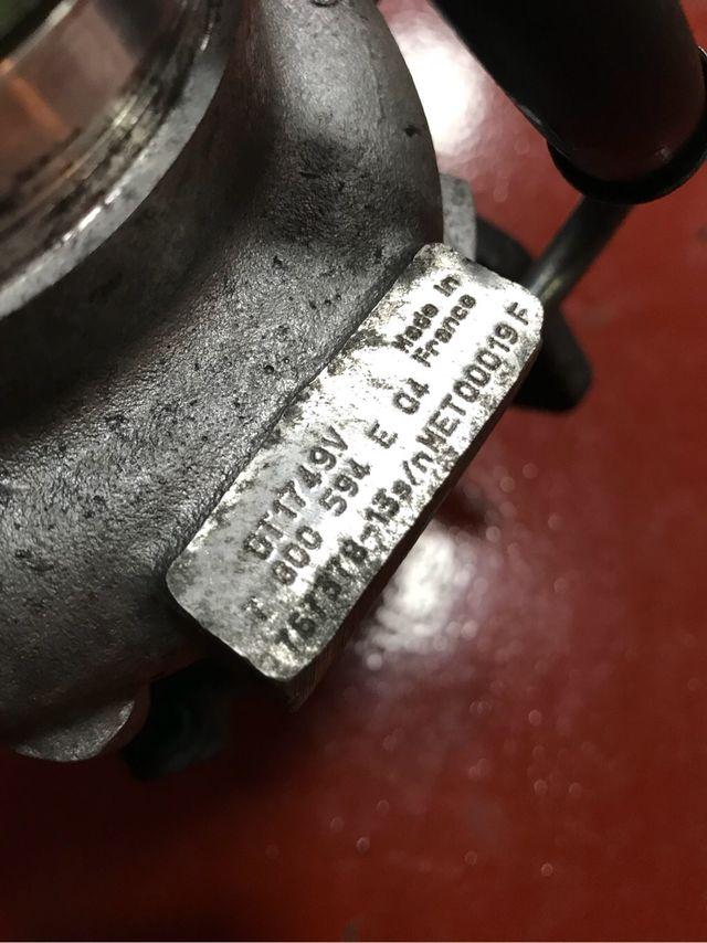 Turbo bmw 118d 767378-13
