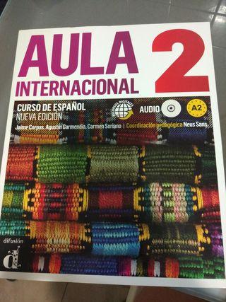 Aula internacional 2 libro curso español
