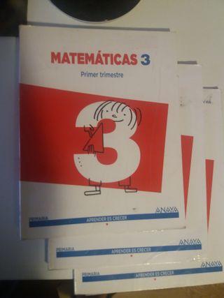 Libros Matematicas 3 Primaria Editorial Anaya