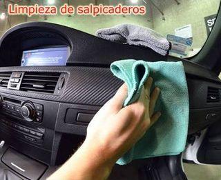 limpieza coches, interior
