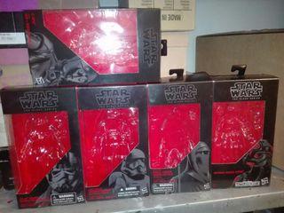 cajas vacias star wars black series