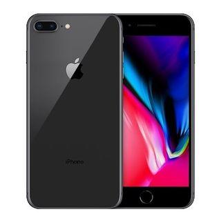 Bonito Apple iPhone Plus de un color gris espacial
