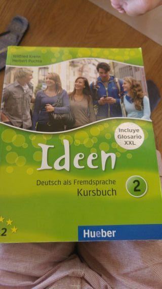 Libro de alemán 1o de Bachillerato Llompart