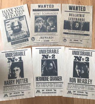 OFERTA!!! Carteles Harry Potter