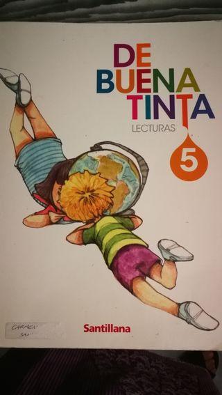 Vendo libro 5 primaria de Buena tinta