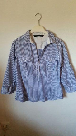 Camisa Zara L (40)