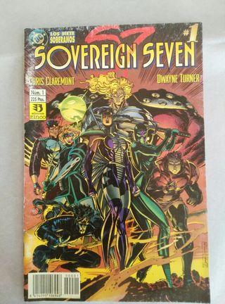 comic los 7 soberanos numero 1