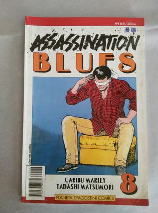 comic assassination blues numero 8