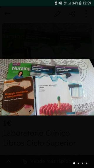 Libros 1° Laboratorio clinico y biomedico