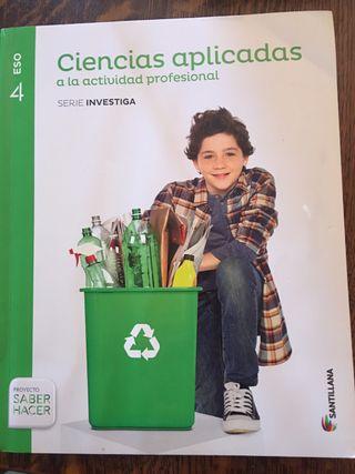 Libro ciencias aplicadas 4 eso