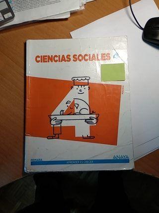 ciencias sociales, Anaya 4 primaria