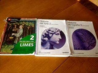 libros de segundo de bachillerato