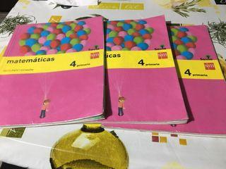 Libros 4 primaria matemáticas S/M SAVIA