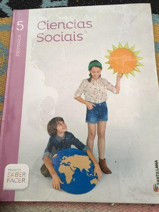 Libro escolar primaria ciencias 5