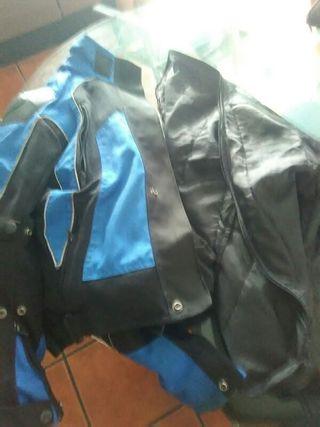 chaqueta unisex moto