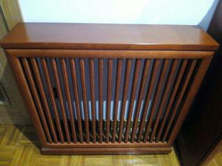 cubre radiador en madera
