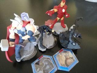 Figuras Vengadores para Disney Infinity 2.0