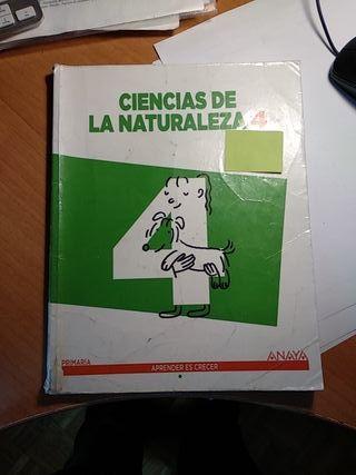 ciencias de la naturaleza, Anaya 4 primaria