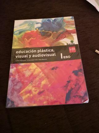 Libro educación plástica y audiovisual 1eso