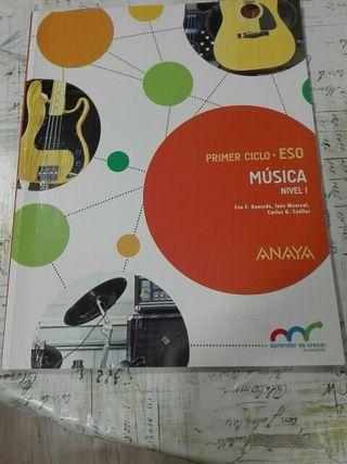 Libro de Música 1 eso