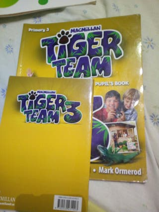 Tiger Team. Pupils book for sale  UK