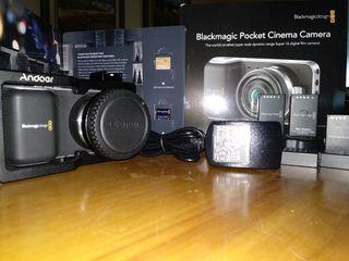 Blackmagic poket cinema camera-BMPCC Pack.