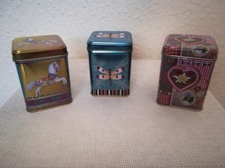 Latas decorativas