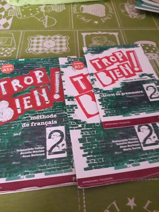 libro de francés 2 eso