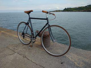 """bicicleta carretera restaurada """"fixie"""""""