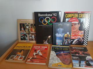 Libros sobre deporte