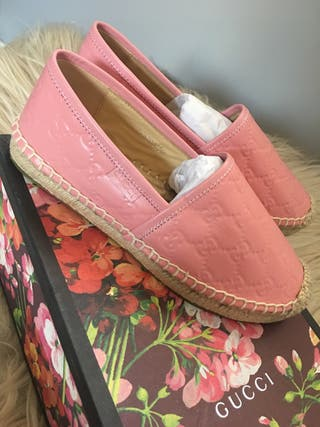 Gucci Leather espadrilles