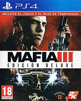 Mafia 3 deluxe edition PS4