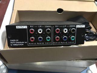 Distribuidor hd por componente