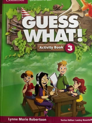 Guess What! 3 Activity book Cambridge