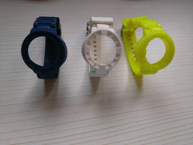 216bc8e30b63 Correas de silicona para reloj watx de segunda mano por 15 € en ...