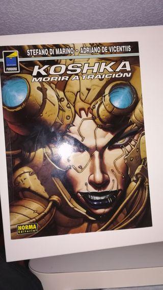 Cómic Koshka: morir a traición