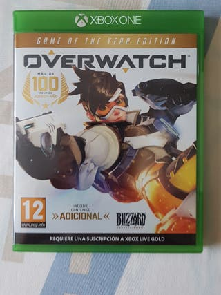 overwatch xbox one year edition