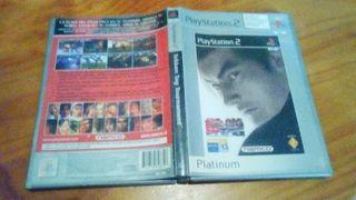 "Caja y manual, ""Tekken Tag Tournament"" - Play 2 -"