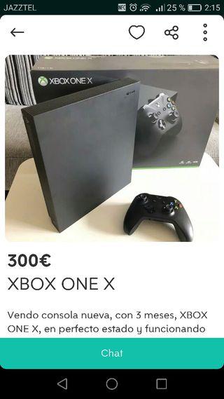 Consola xbox one x
